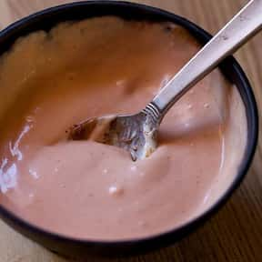 Russian dressing is listed (or ranked) 15 on the list The Tastiest Types of Salad Dressing, Ranked