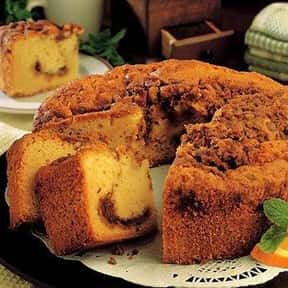 Coffee Cake is listed (or ranked) 20 on the list Every Single Type of Cake, Ranked by Deliciousness