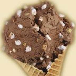 Rocky Road is listed (or ranked) 17 on the list The Most Delicious Ice Cream Flavors