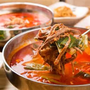 Yukgaejang is listed (or ranked) 19 on the list The Best Korean Food