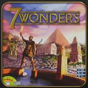 7 Wonders is listed (or ranked) 3 on the list The Best Board Games For 6-8 Players