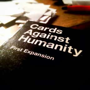 Cards Against Humanity is listed (or ranked) 4 on the list The Most Popular & Fun Card Games