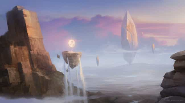 Numenera is listed (or ranked) 4 on the list 15 Pieces Of Insanely Gorgeous Tabletop RPG Artwork