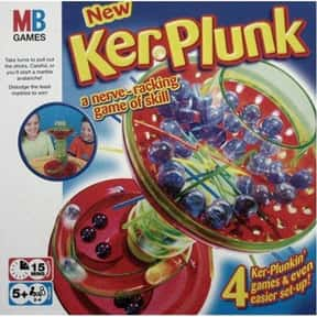 Kerplunk is listed (or ranked) 22 on the list The Best Board Games For Kids