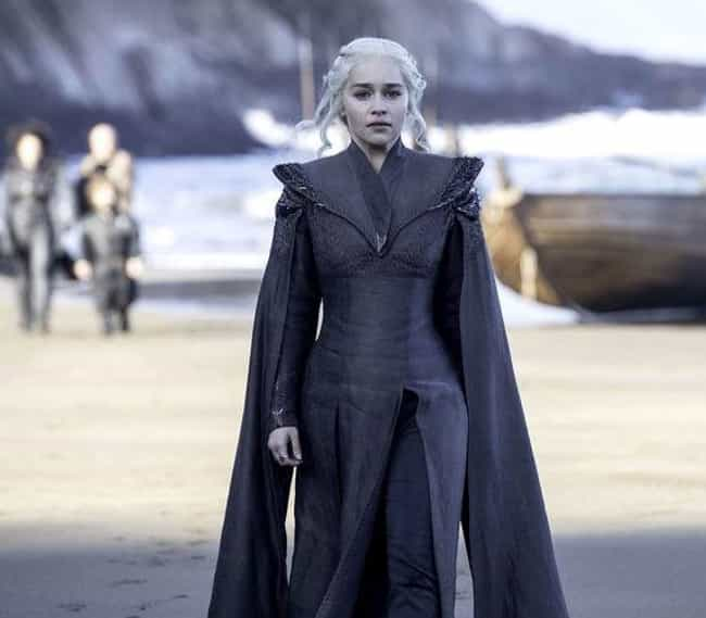 Daenerys Targaryen is listed (or ranked) 2 on the list Where Every 'Game of Thrones' Character Is At The Beginning Of Season 8