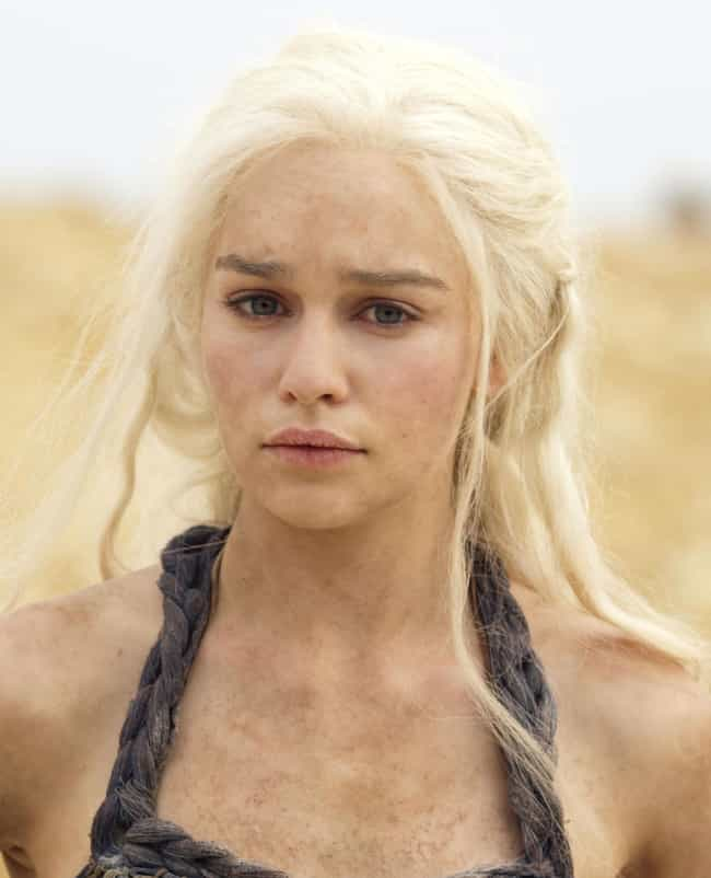 Daenerys Targaryen is listed (or ranked) 2 on the list The Hottest Female Game of Thrones Characters