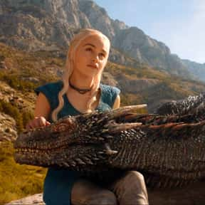 Daenerys Targaryen is listed (or ranked) 13 on the list Current TV Characters You Would Want to Be BFFs With