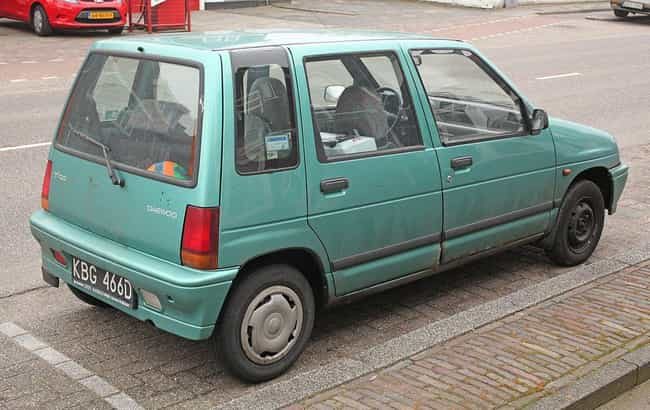 Daewoo Tico is listed (or ranked) 6 on the list The Ugliest Cars In The World
