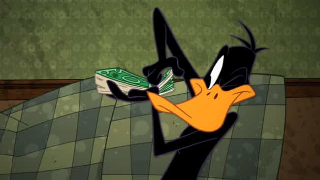 Daffy Duck is listed (or ranked) 2 on the list How 'Looney Tunes' Characters Represent The Seven Deadly Sins