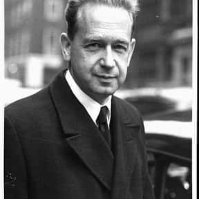 Dag Hammarskjöld is listed (or ranked) 25 on the list Nobel Peace Prize Winners List