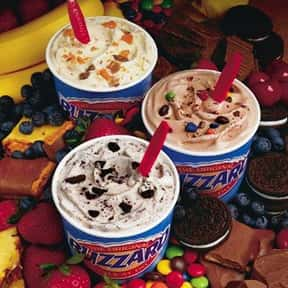 Dairy Queen is listed (or ranked) 8 on the list The Best Ice Cream Brands