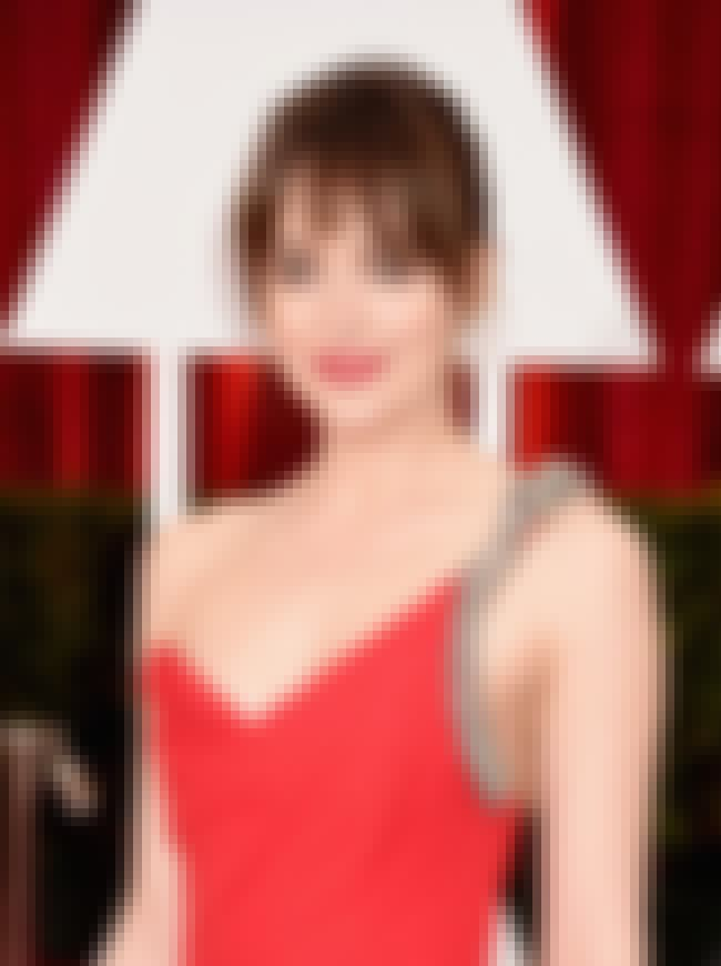 Dakota Johnson is listed (or ranked) 7 on the list Famous People Born in 1989