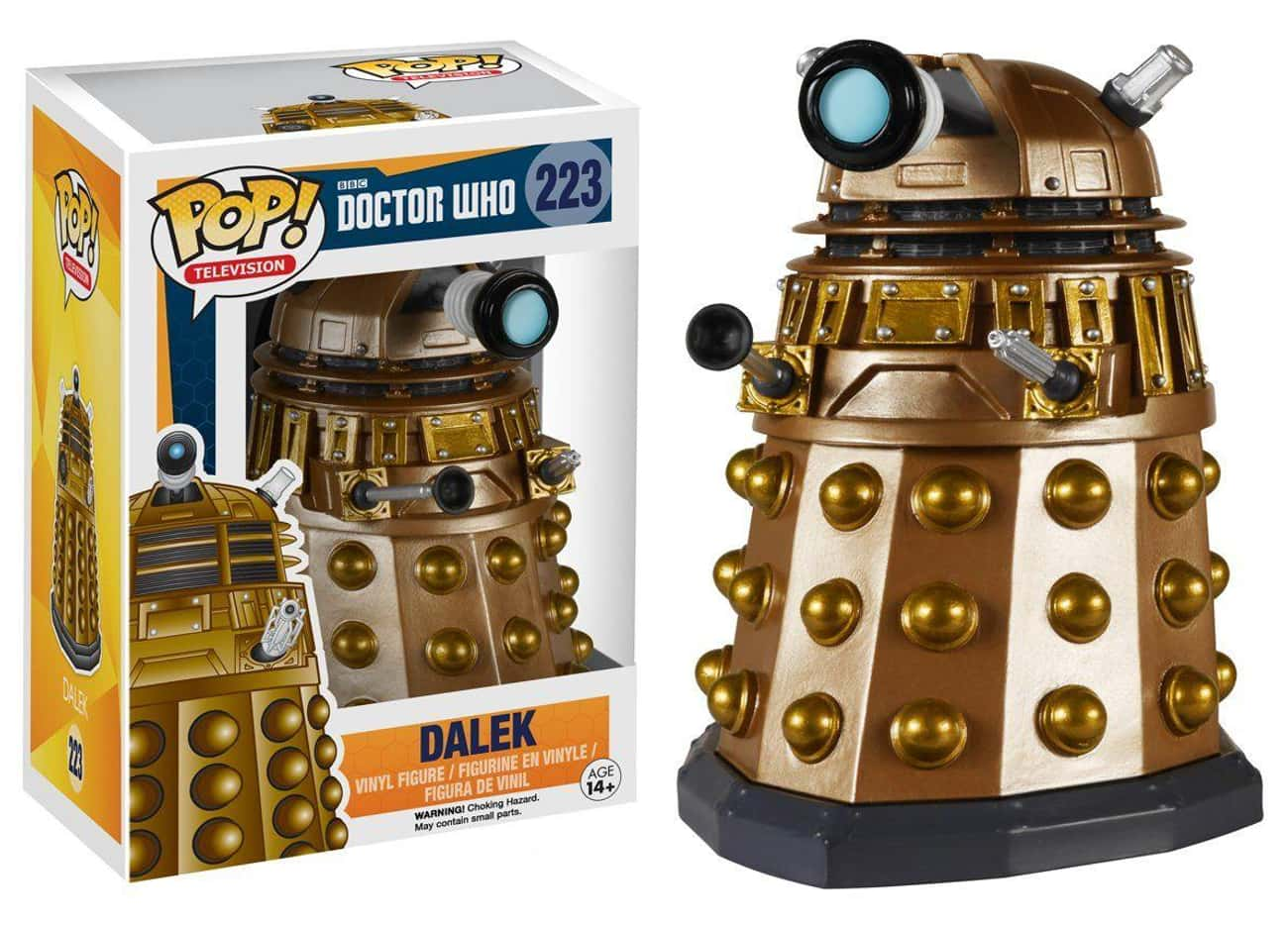 Dalek is listed (or ranked) 3 on the list Funko Pops That Actually Look Like The Characters