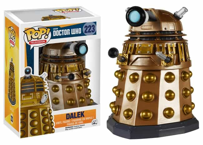 Dalek is listed (or ranked) 4 on the list Funko Pops That Actually Look Like The Characters
