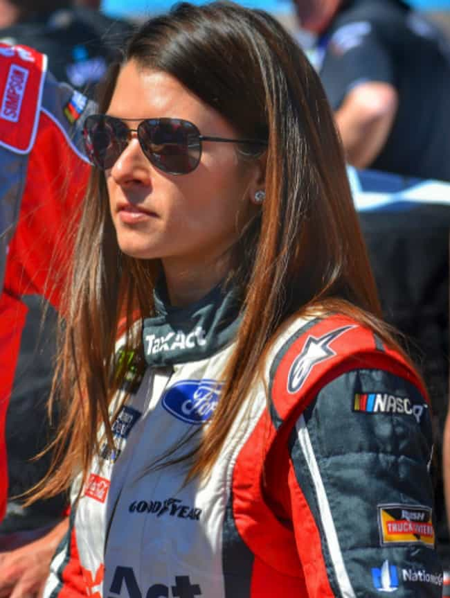 Danica Patrick is listed (or ranked) 2 on the list NASCAR Drivers And Officials Who Lean to the Left