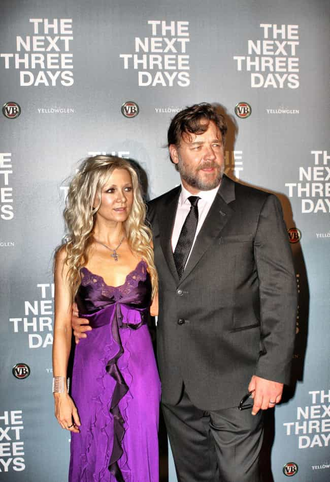 Danielle Spencer is listed (or ranked) 3 on the list Russell Crowe's Loves & Hookups