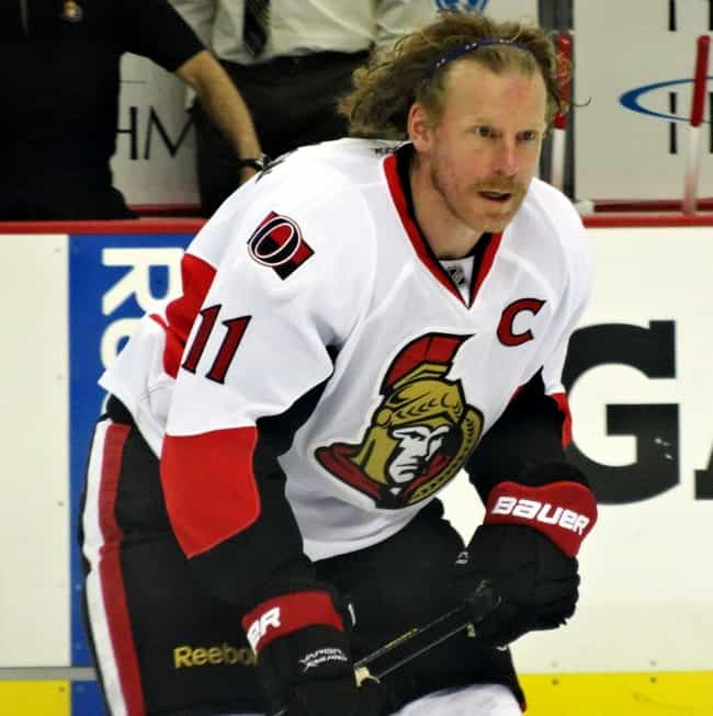 Daniel Alfredsson is listed (or ranked) 6 on the list The Worst Hairstyles in NHL History