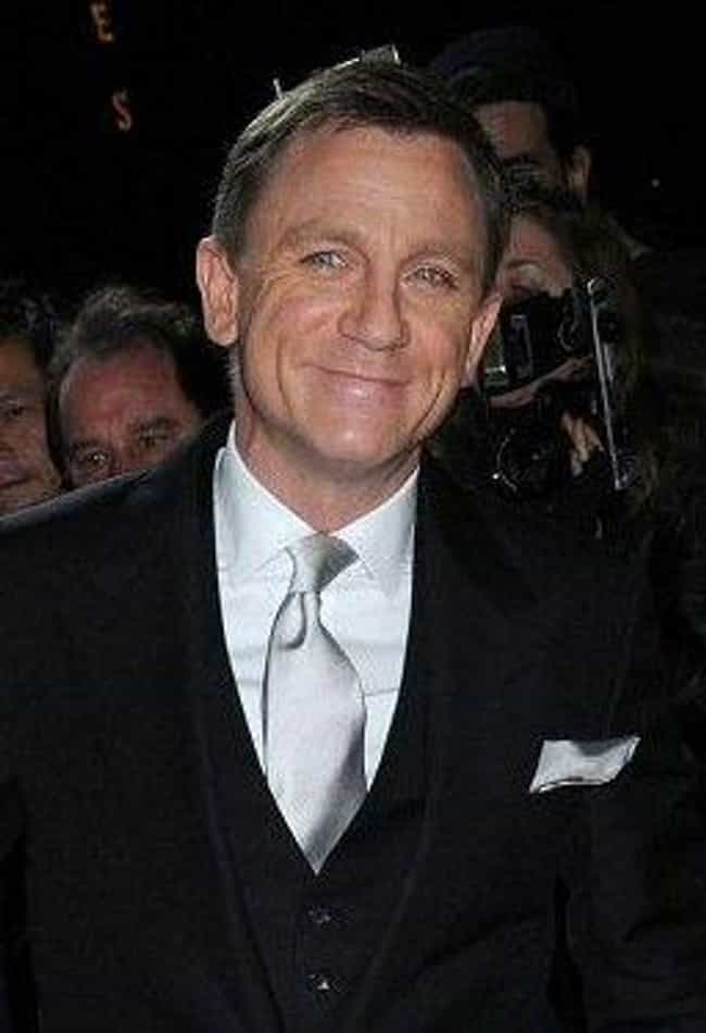 Daniel Craig is listed (or ranked) 1 on the list 42 Famous Actors Who Were Injured on Film Sets