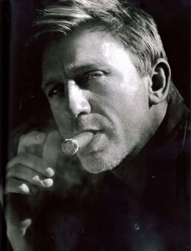 Daniel Craig is listed (or ranked) 31 on the list 75+ Celebrities Who Smoke Cigars