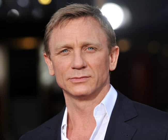Daniel Craig is listed (or ranked) 10 on the list Kate Moss's Loves &
