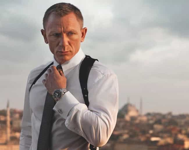 Daniel Craig is listed (or ranked) 1 on the list James Bond Actors Who've Hated on the Bond Films
