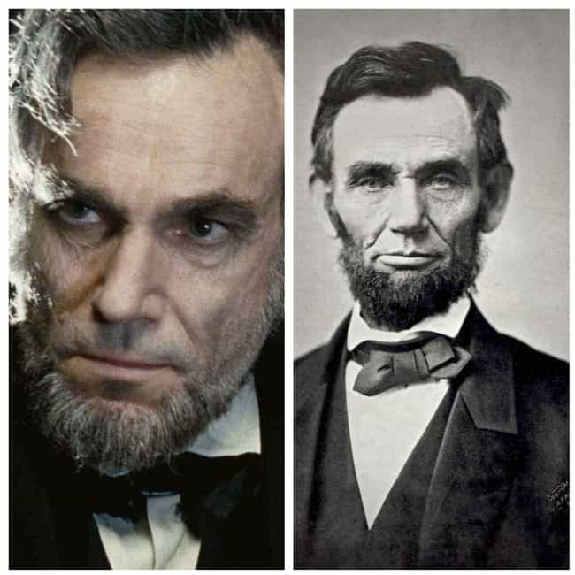 Daniel Day-Lewis is listed (or ranked) 3 on the list 21 Actors Vs. The Historical Figures They Portrayed On-Screen