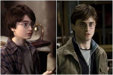 Daniel Radcliffe - Harry Potte is listed (or ranked) 1 on the list What The Cast Of 'Harry Potter' Looked Like At The Beginning Vs. The End Of The Series