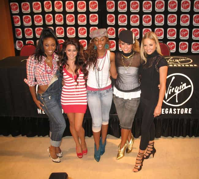 """Danity Kane is listed (or ranked) 1 on the list MTV's """"Making The Band"""": Where Are They Now?"""