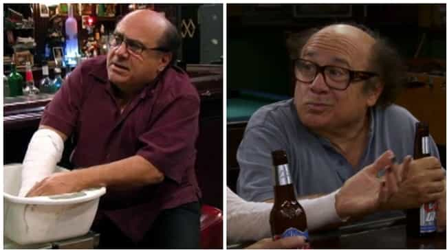 Danny DeVito is listed (or ranked) 4 on the list How the Cast of It's Always Sunny Aged Throughout the Show