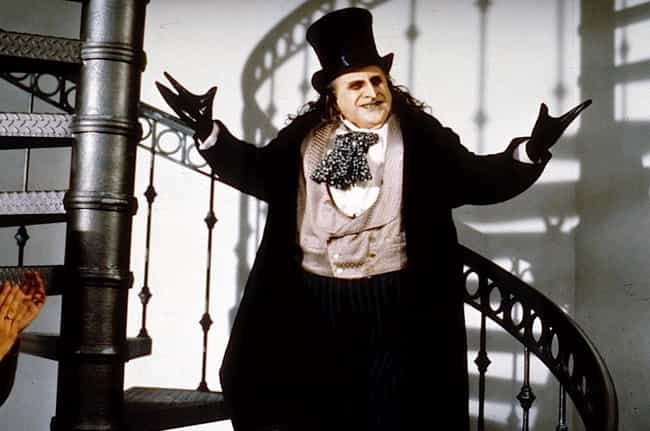 Danny DeVito is listed (or ranked) 3 on the list The Best Actors Who Played Batman Villains On Film