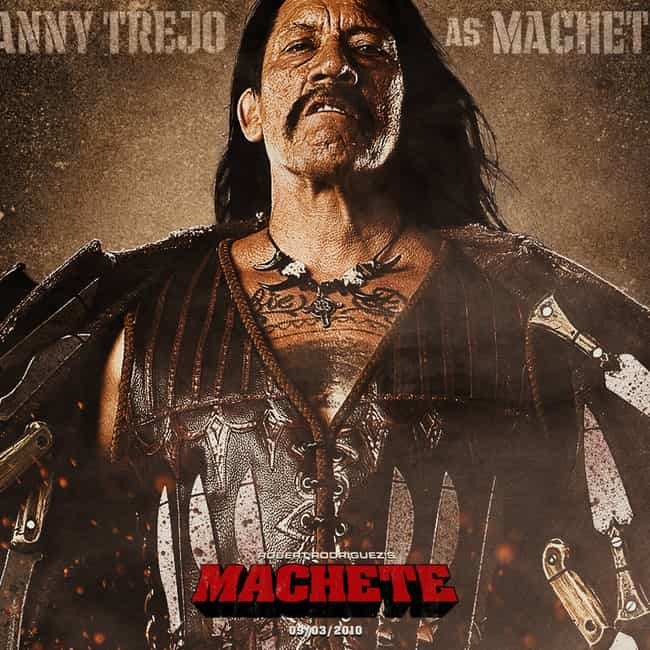 Danny Trejo is listed (or ranked) 1 on the list Actors in the Most Robert Rodriguez Movies