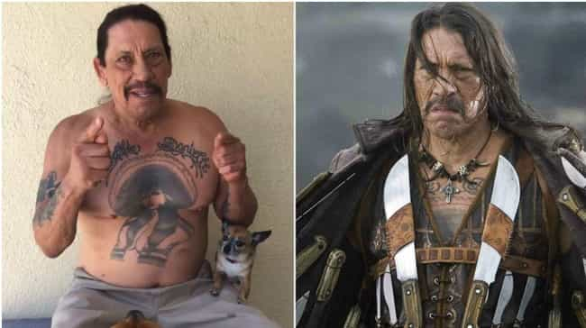 Danny Trejo is listed (or ranked) 1 on the list Actors Known for Roles Opposite to Who They Are in Real Life