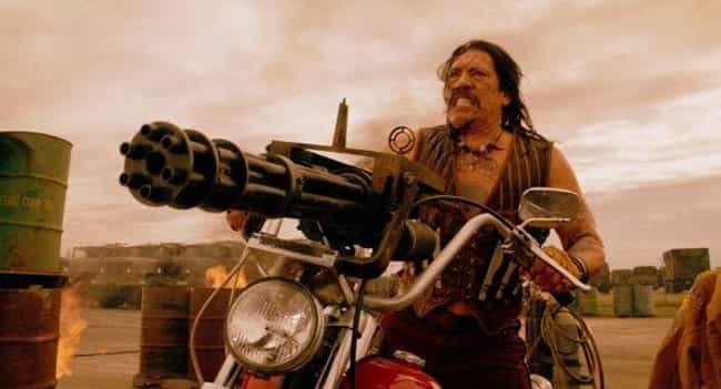 Danny Trejo is listed (or ranked) 4 on the list Which Action Star Has The Butchest Character Names?