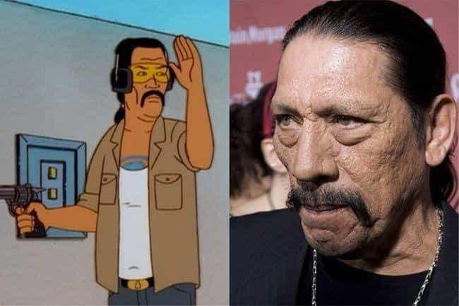 Danny Trejo is listed (or ranked) 2 on the list Who Would Star In A Live-Action 'King Of The Hill' Movie?