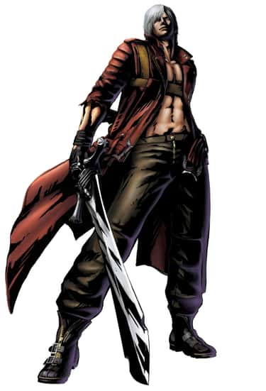 Dante is listed (or ranked) 1 on the list The Best Video Game Characters with White Hair