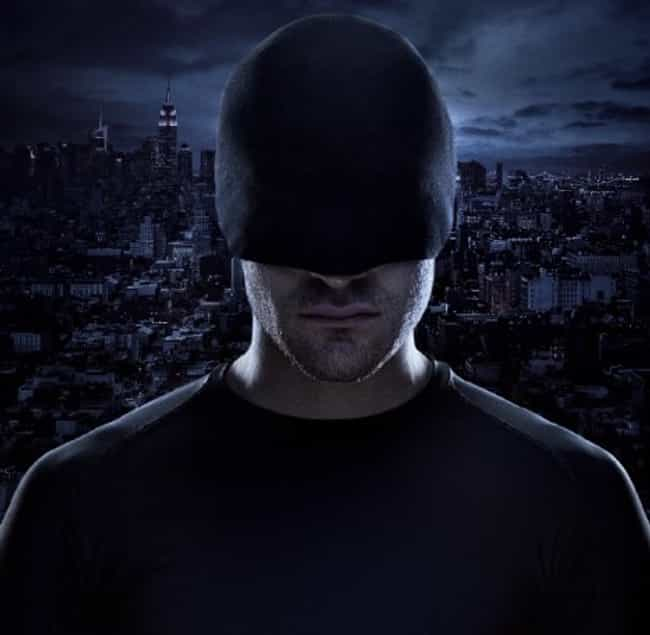 Daredevil is listed (or ranked) 2 on the list The Most Hardcore Blind Fictional Characters