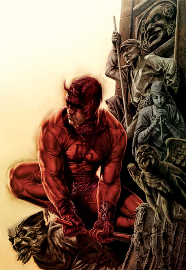 Daredevil is listed (or ranked) 2 on the list 23 Seemingly Disabled Superheroes & Villains