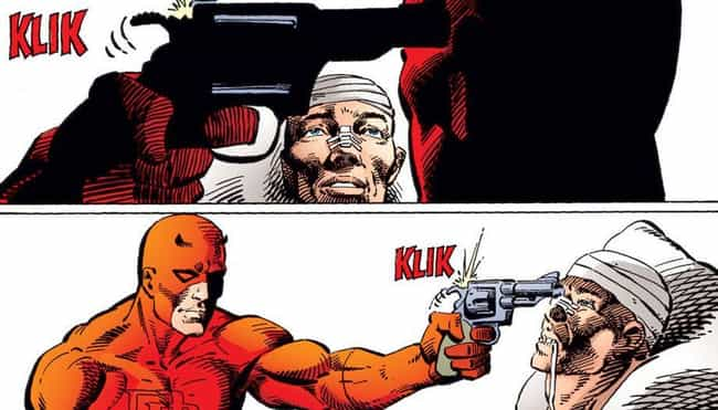 Daredevil is listed (or ranked) 2 on the list The 26 Best Daredevil Storylines In Comics