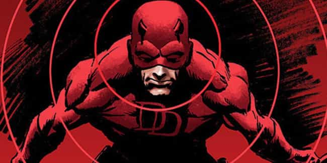 Daredevil is listed (or ranked) 2 on the list The Most Emo Marvel And DC Superheroes