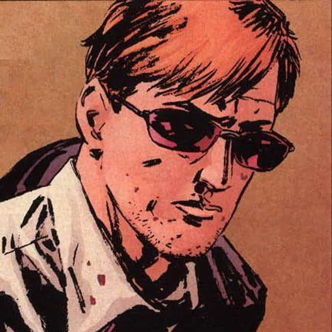 Daredevil is listed (or ranked) 3 on the list The Best Superheroes Who Wear Glasses