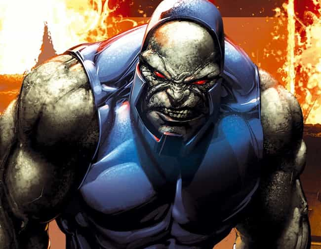 Darkseid is listed (or ranked) 3 on the list The Best Archenemies in DC Comics