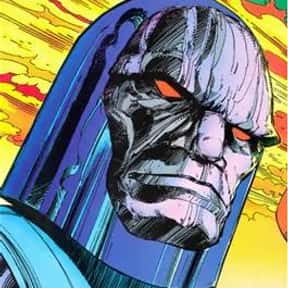 Darkseid is listed (or ranked) 2 on the list The Greatest Villains In DC Comics, Ranked