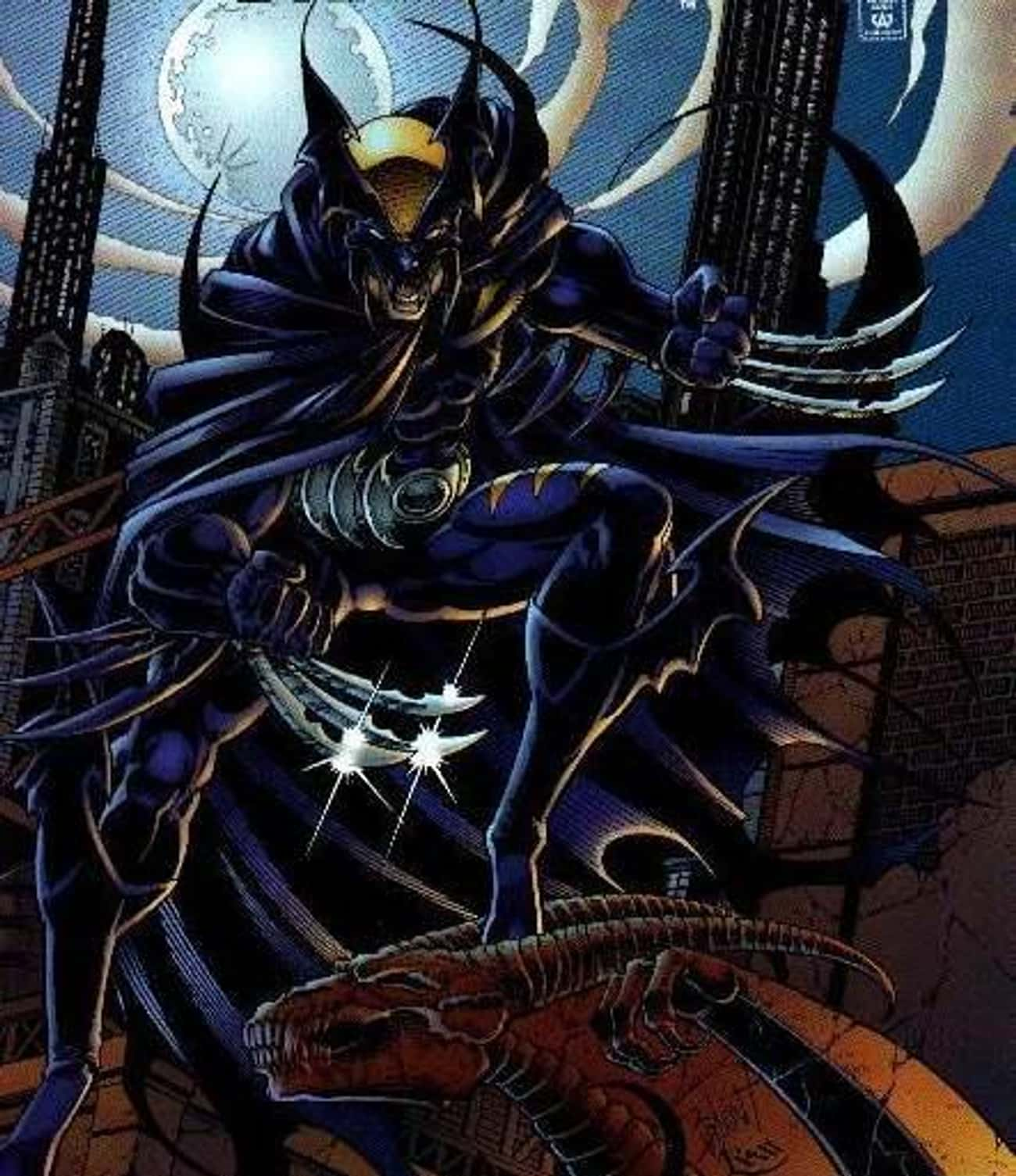 He Has An Alter-Ego Named Dark Claw