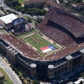Darrell K Royal–Texas Memorial is listed (or ranked) 11 on the list The Best College Football Stadiums