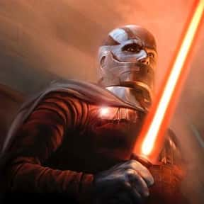 Darth Malak is listed (or ranked) 15 on the list My Top 30 Star Wars Expanded Universe Characters