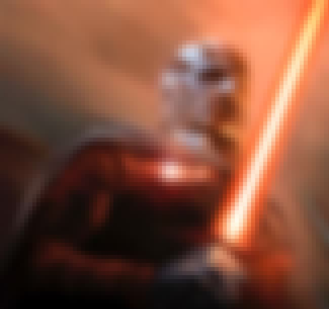 Darth Malak is listed (or ranked) 3 on the list 20 Powerful Jedi Who Broke Bad And Turned To The Dark Side