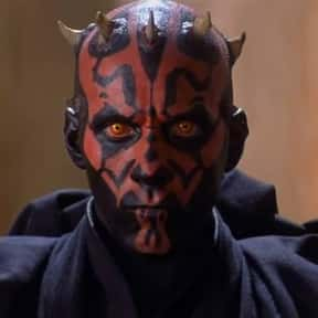 Darth Maul is listed (or ranked) 4 on the list Which Star Wars Characters Deserve Spinoff Movies?