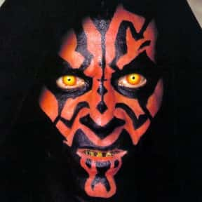Darth Maul is listed (or ranked) 18 on the list The Greatest Movie Villains Of All Time