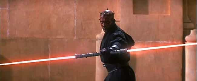 Darth Maul is listed (or ranked) 8 on the list Which Jedi Or Sith Would Win In An All-Out Battle?