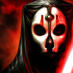 Darth Nihilus is listed (or ranked) 17 on the list My Top 30 Star Wars Expanded Universe Characters